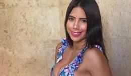 La modelo María Fernanda Aguilar