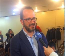 El diputado de Vox en la Junta General del Principado, Ignacio Blanco.