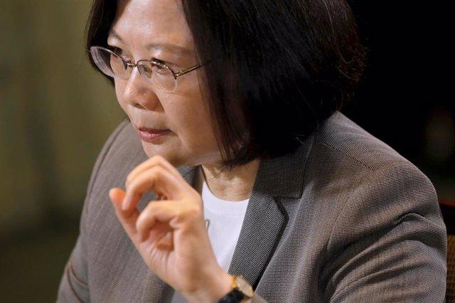 La presidenta de Taiwan, Tsai Ing-wen