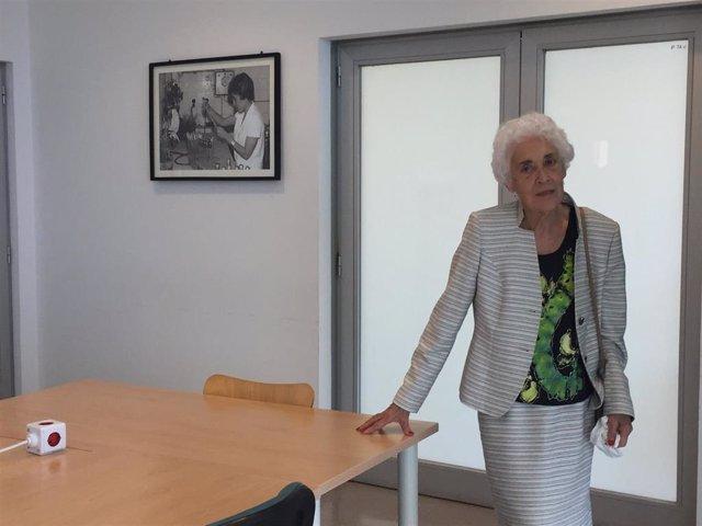 La pionera de la investigación antártica Josefina Castellví