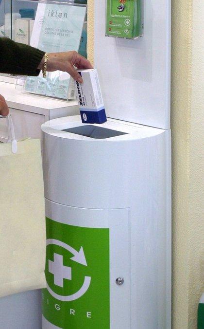 El 62% de los materiales de envases de medicamentos recogidos en los 'puntos Sigre' se logra reciclar