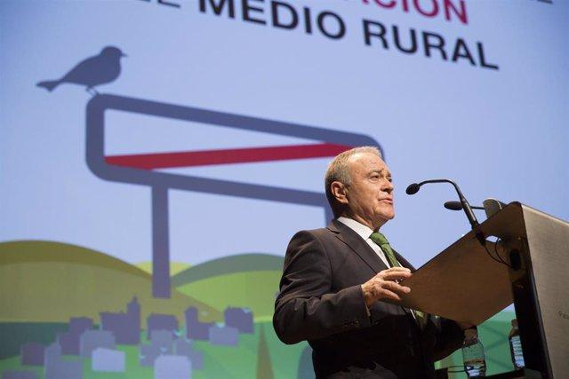 El presidente de la Diputación de Huesca, Miguel Gracia