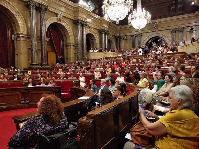 Ple del Parlament de les dones