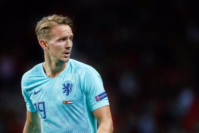 PORTO, 09-06-2019, Estadio Dragao , UEFA Nations League Final between Portugal and The Netherlands. Luuk de Jong during the game Portugal - Netherlands 1-0.