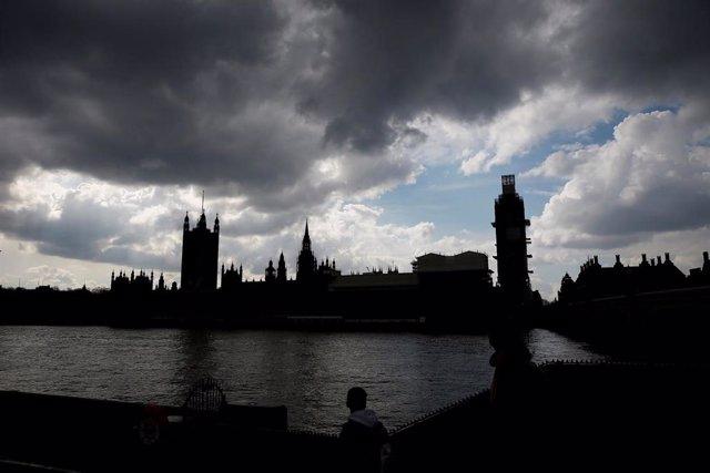 Vista del Parlamento británico en Londres