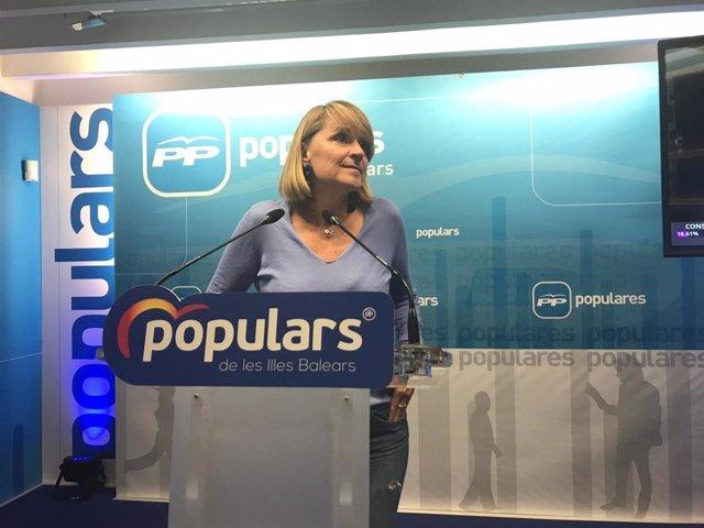 La eurodiputada del PP, Rosa Estaràs,