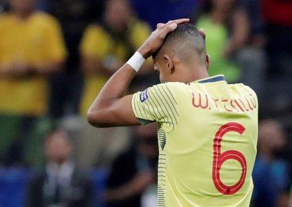 El futbolista colombiano William Tesillo recibe amenazas de muerte tras fallar el penalti contra Chile