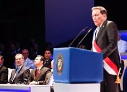 El Rey Felipe VI asiste a la toma de posesión de Laurentino Cortizo como presidente de Panamá