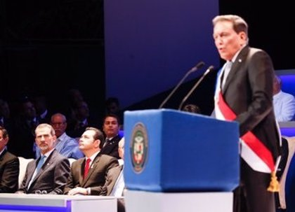 El Rey asiste a la toma de posesión de Laurentino Cortizo como presidente de Panamá