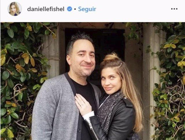 Danielle Fishel y su marido, Jensen Karp