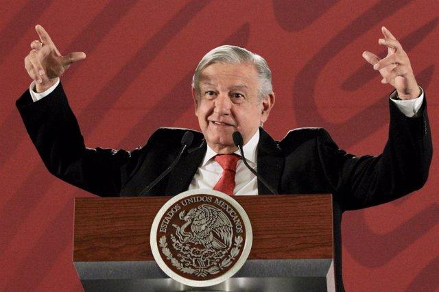 El presidente mexicano, Andrés Manuel López Obrador