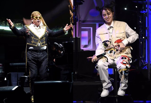 Elton John y Billie Eilish