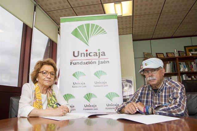 Garmen Espin y Francisco Gutiérrez