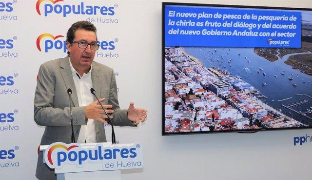 """Huelva.- PP remarca que el plan para la chirla """"nace del diálogo y el acuerdo"""" e"""