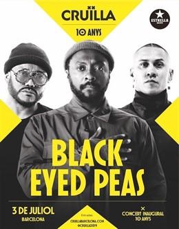 Black Eyed Peas en el Festival Cruïlla (arxiu)