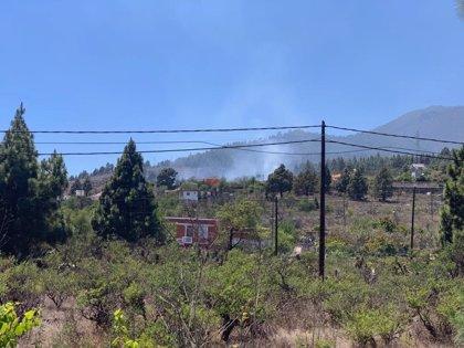Se declara un conato de incendio en El Paso (La Palma)
