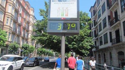 La ola de calor deja en Euskadi doce récords de temperaturas máximas para un mes de junio en lo que llevamos de siglo