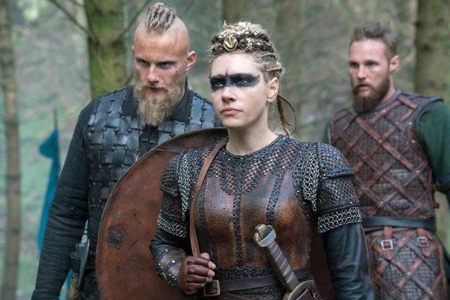 Lagertha en la serie Vikingos