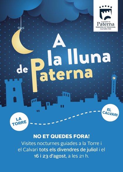Paterna abre la nueva temporada de rutas turísticas nocturnas para conocer su patrimonio histórico