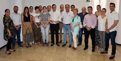 González (PP) inicia una ronda de reuniones con alcaldes y ediles para trazar estrategias para el nuevo ciclo en Huelva