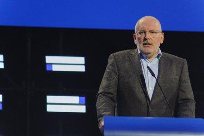 Timmermans será vicepresidente primero de la Comisión y Vestager vicepresidenta segunda