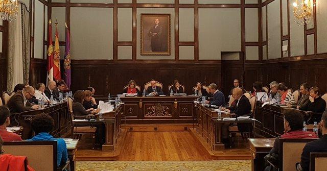 Pleno de la Diputación de Guadalajara