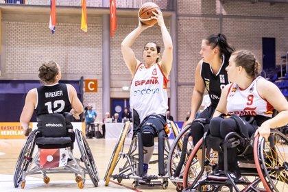 La selección española femenina encaja ante Alemania su tercera derrota en el Europeo en silla de ruedas