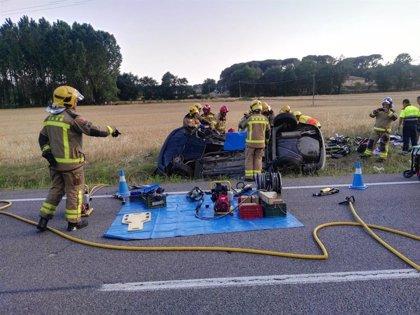 Un muerto y un herido muy grave en un accidente en Caldes de Malavella (Girona)