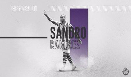 Sandro Ramírez jugará cedido en el Real Valladolid