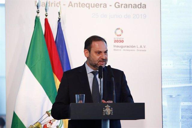 El AVE llega a Granada en la inauguración de la nueva línea de Alta Velocidad Madrid-Antequera-Granada