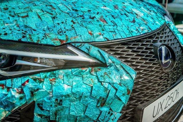 El Lexus UX Art 'Gyorin Kozane' de Antoñito y Manolín ganan el concurso europeo 'Chantilly Arts & Elegance Richard Mille'