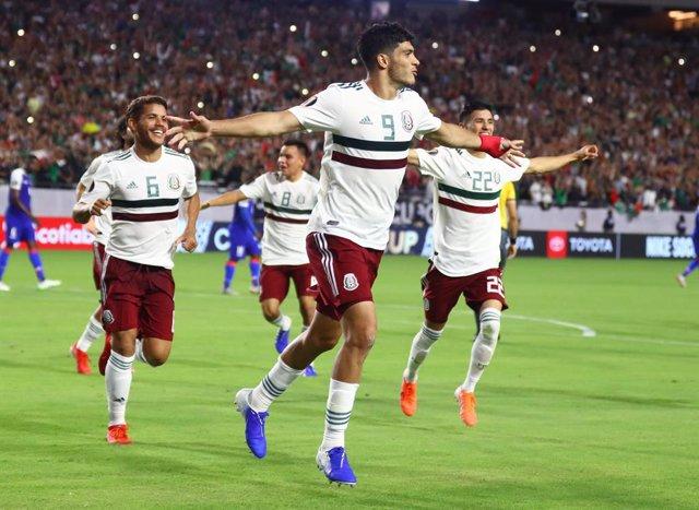 México gana a Haití y se clasifica para la final de la Copa Oro