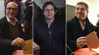 Estos son los 3 candidatos a las elecciones presidenciales de Uruguay