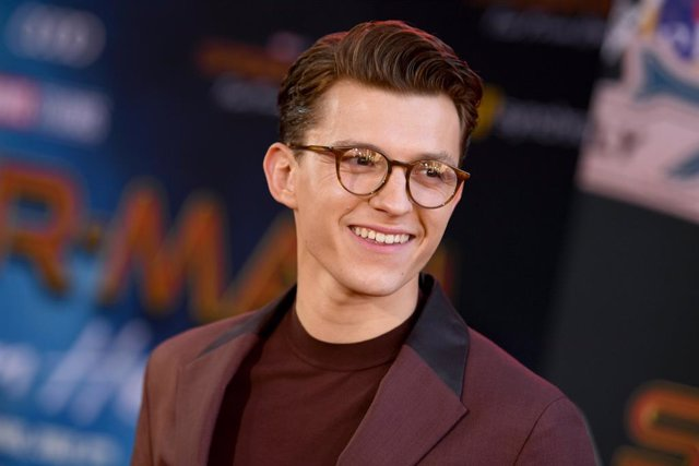 Tom Holland en la Premiere de Spider-Man Far From Home