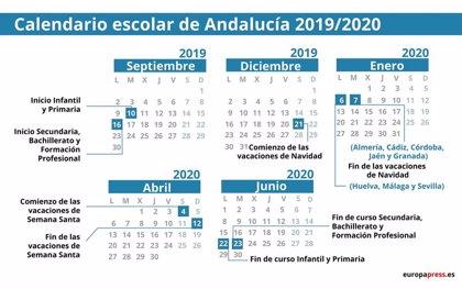 Calendario Escolar Cantabria 2020 2019.Faaqidaad Fecha Vacaciones Verano 2019 Espana