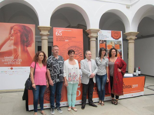 Presentación del taller de canto del Festival de Mérida