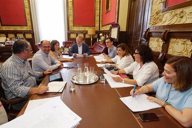 Reunión de la Junta de Gobierno del Ayuntamiento de Valladolid
