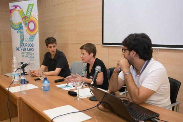 Charo Alises participa en los cursos de verano de la UMA en Marbella (Málaga) y reclama una ley estatal por los derechos de los colectivos LGTBI