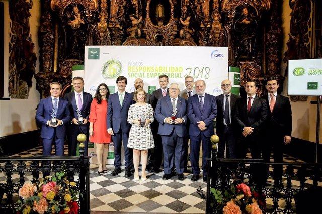 Presentación del premio de responsabilidad social empresarial 2019