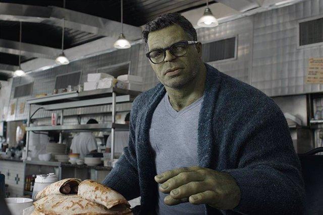Hulk en Vengadores: Endgame