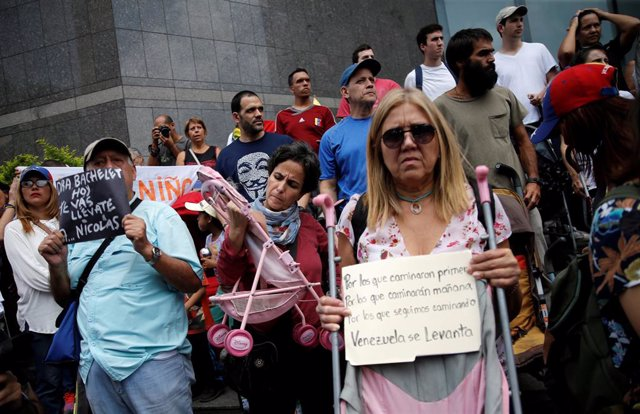 UN High Commissioner for Human Rights Michelle Bachelet in official visit to Venezuela
