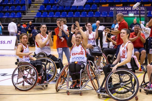 La selección española femenina se acerca a Tokyo 2020 tras tumbar a Francia en el Europeo de silla de ruedas