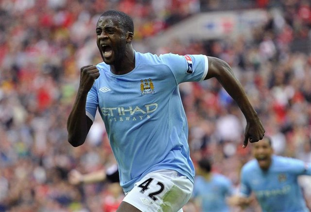 Yaya Toure Del Manchester City