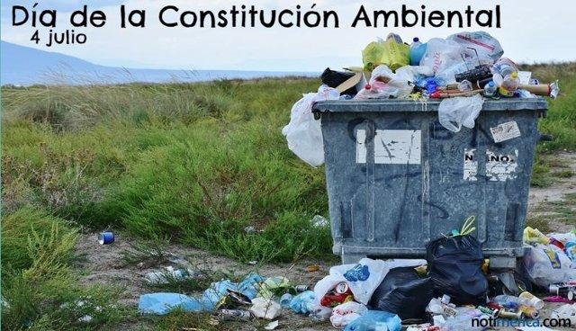 DÍA DE LA CONSTITUCIÓN AMBIENTAL