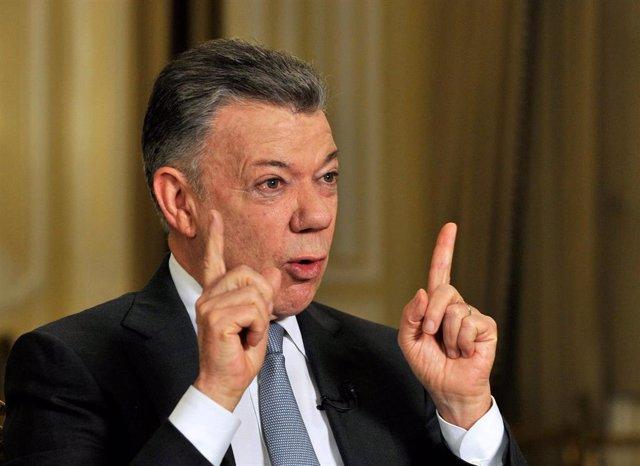 El ex presidente de Colombia, Juan Manuel Santos