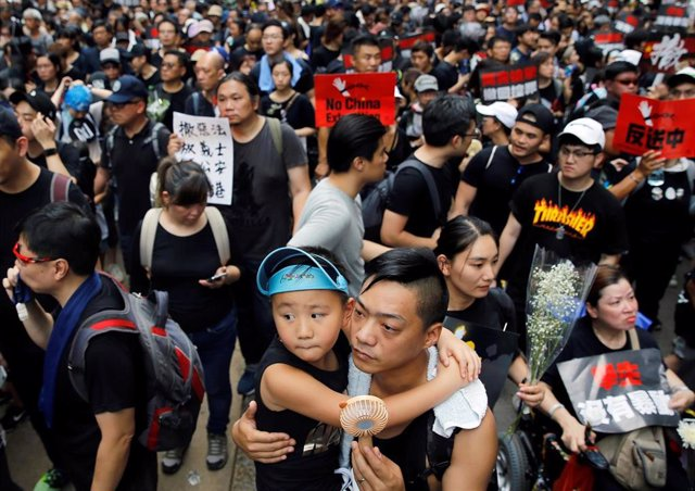 Protesta en Hong Kong