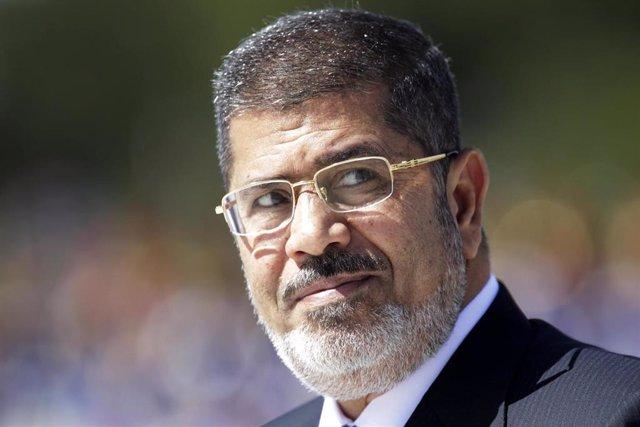 El expresidente egipcio, Mohamed Mursi.