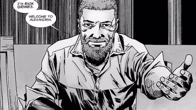Imagen de los cómics de The Walking Dead creados por Robert Kirkman