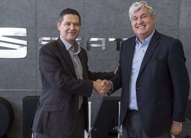SEAT y ESADE firman un acuerdo para impulsar las vocaciones emprendedoras y dire