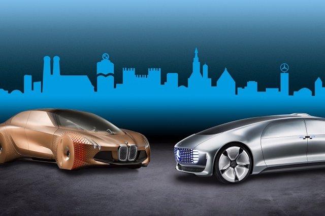 Futuros vehículos autónomos de BMW y Daimler